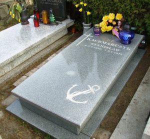 miejsce pamięci na gdyńskim cmentarzu